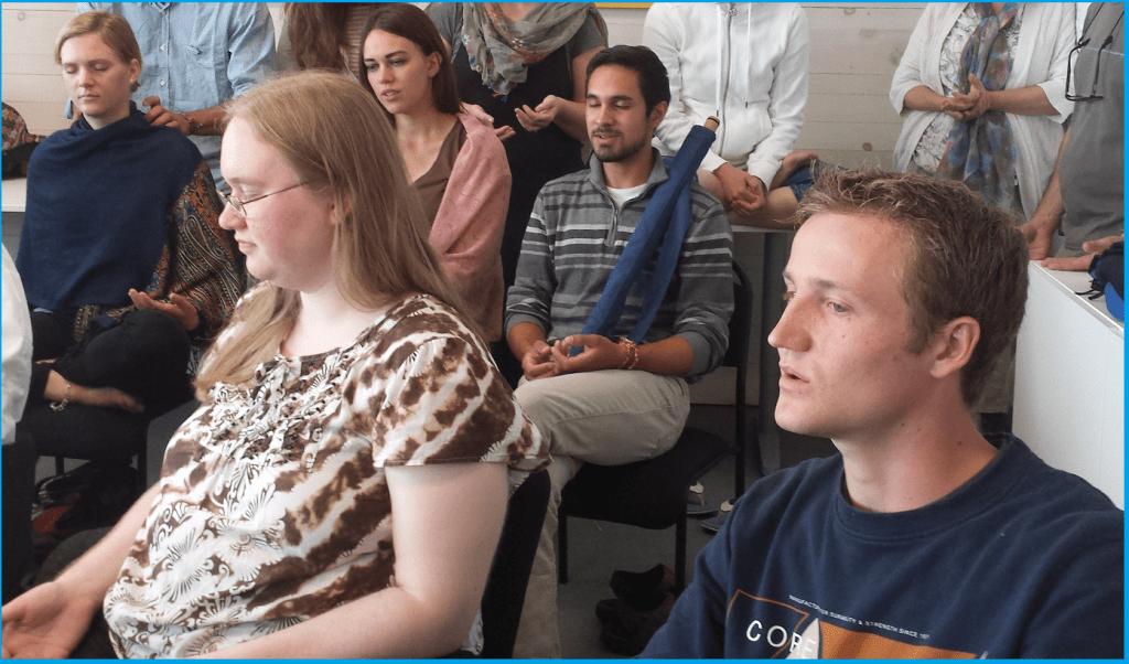 Sahaja Yoga Meditation - Art program for youth - Summer 2015 in Burlington