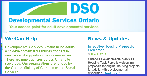 DSO website