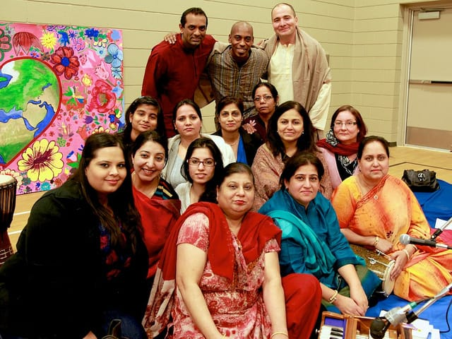 We together - Ontario Bhajan Band