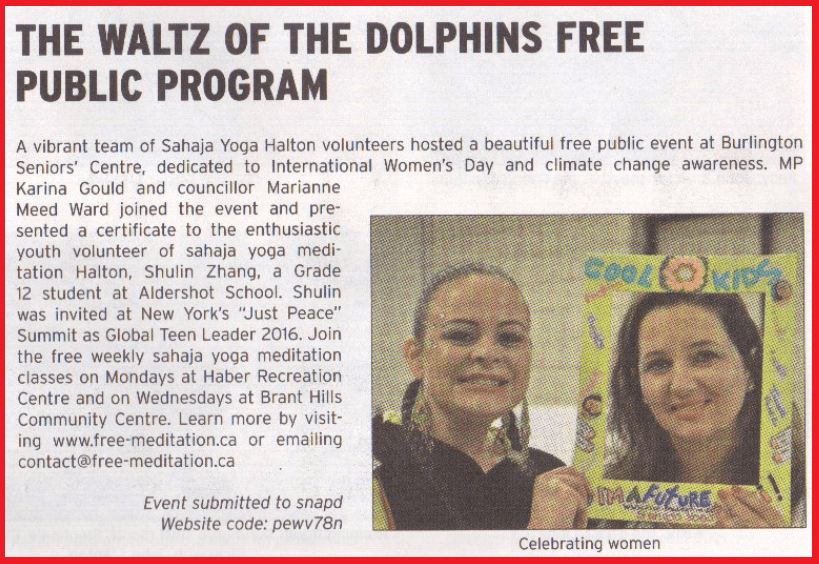 SNAP March 12 event in April issue 2016