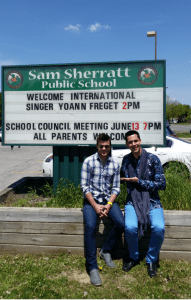 "(#4 ) ""R.A.I.N. with SunShine"" Tour in Milton @ Sam Sherratt Primary School on FRI, May 20, 2016"