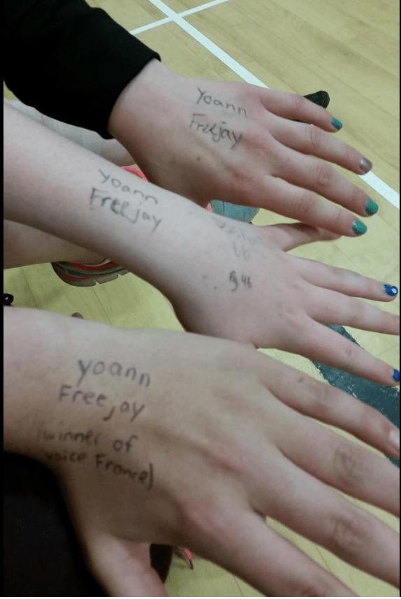 Yoann Freejay - fans school