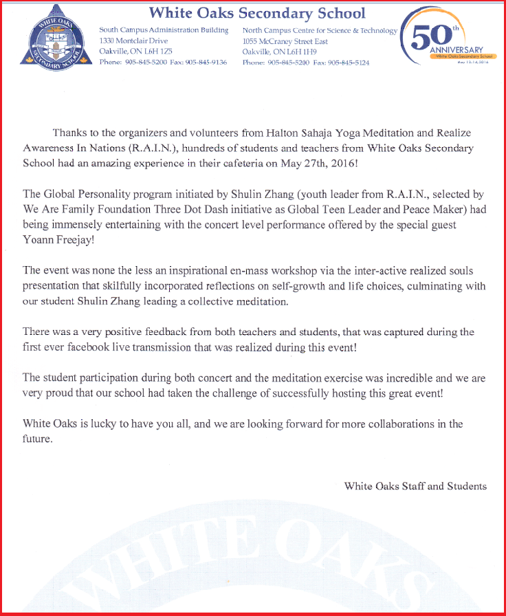 tHANK YOU LETTER WHITE OAKS -web