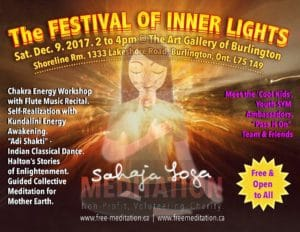 "Let's Celebrate Together the ""Festival of Inner Lights"" at Burlington Art Gallery on Sat, Dec 9 2017"