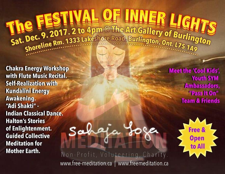 """Let's Celebrate Together the """"Festival of Inner Lights"""" at Burlington Art Gallery on Sat, Dec 9 2017"""