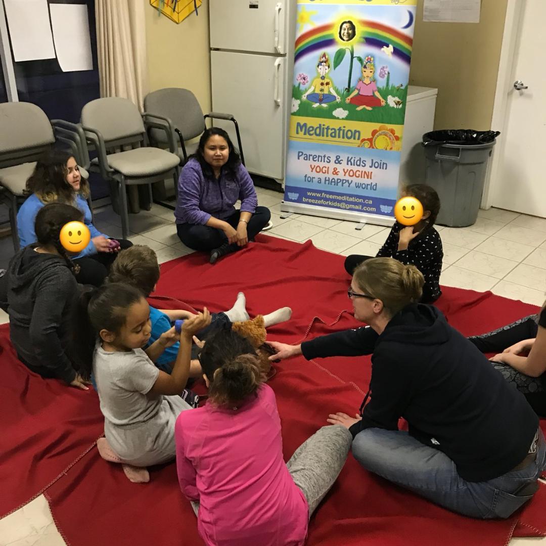 "Meditation Helps Children and Improves their Behaviour  — Thank You from Community Developer for Sahaja Yoga Meditation ""Cool Kids"" Workshop @ Burlington After-school programs"