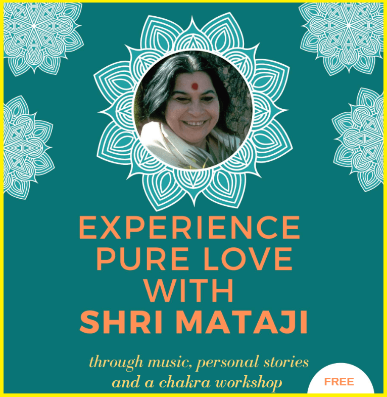 Come to Experience Pure Love with Shri Mataji on Fri Feb 22 in Oakville (Live Music, Energy Workshop, Personal Connections)