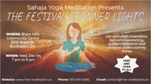 Join the Inner Lights of Halton on Dec 4 and Dec 6