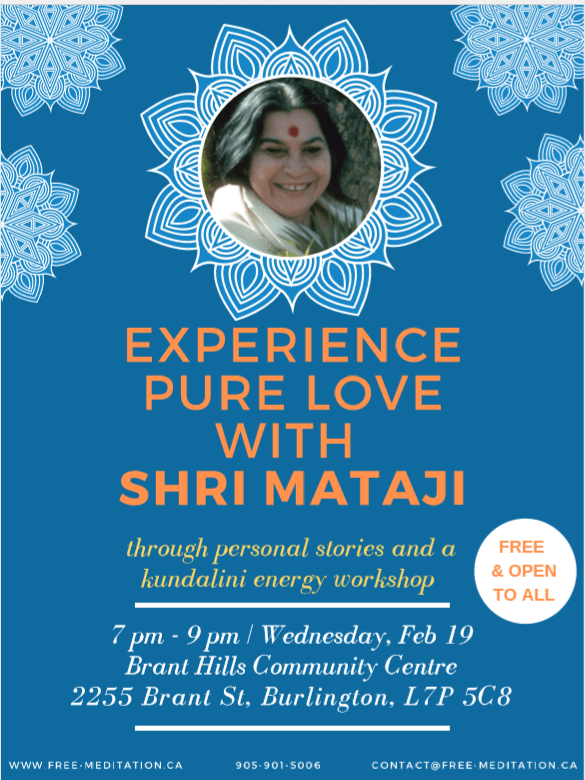 Experience Two Valentine's Day Events with Yogis & Meditators from Halton (Feb 19 + Feb 21)