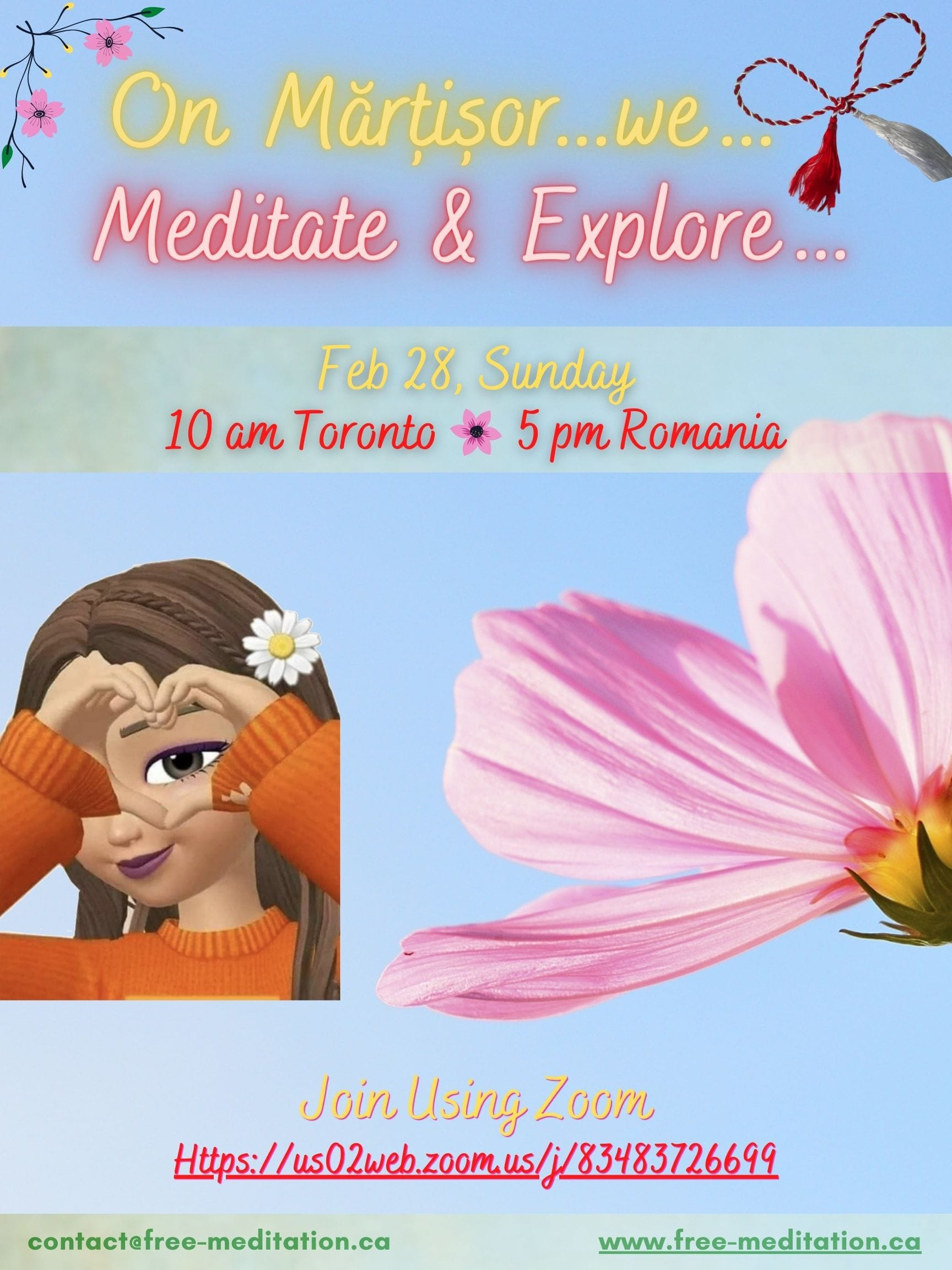 On Martisor…we Meditate & Explore…