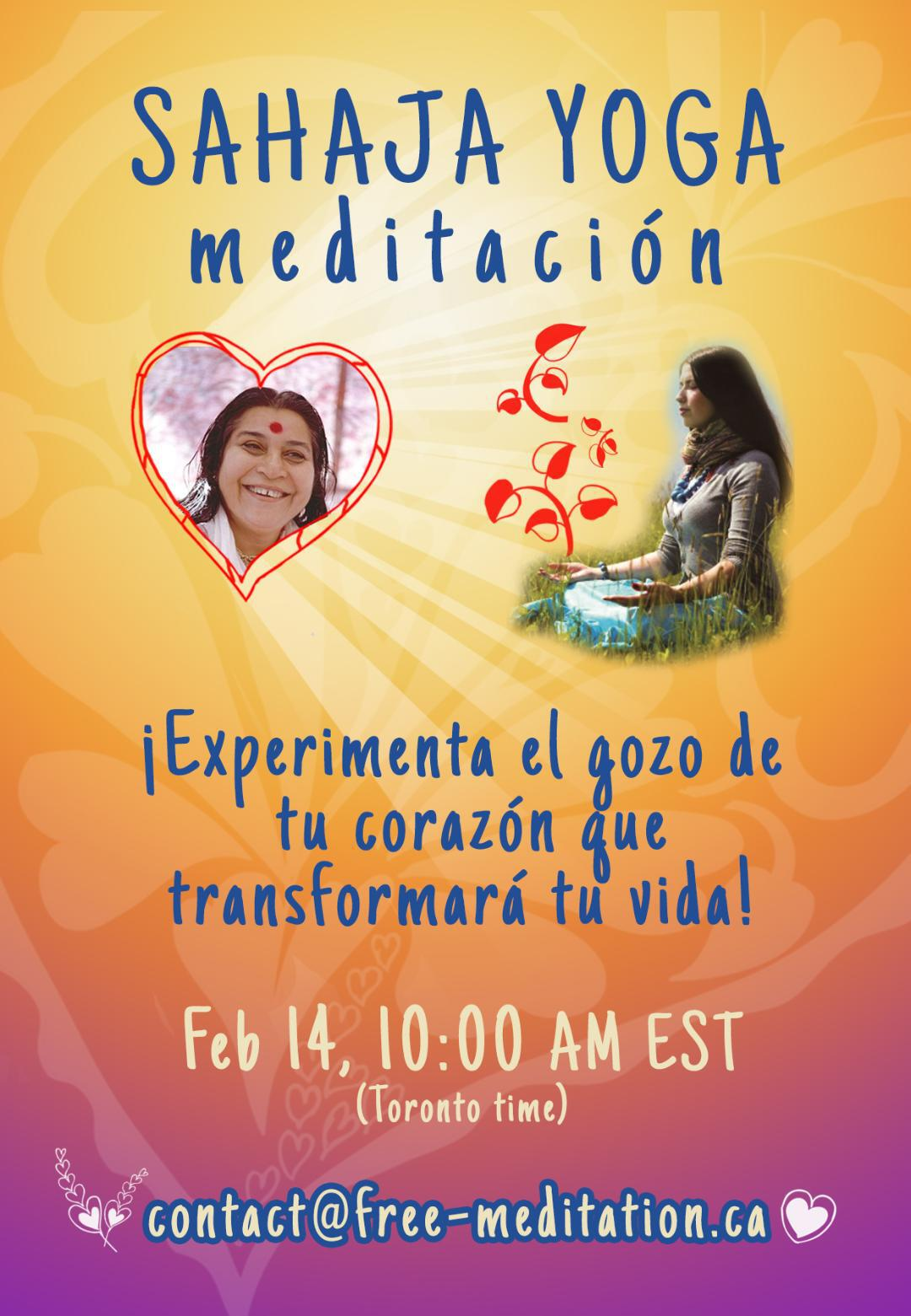 "Celebrate Valentine's Day Online with a Special Event in Spanish – "" Experience the Joy in your Heart that will Transform your Life"""