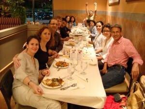 Family Photo at Kwality restaurant - Burlington