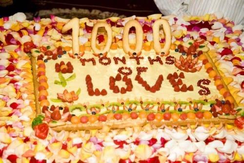 Cake from a Sahaj International Family gathering