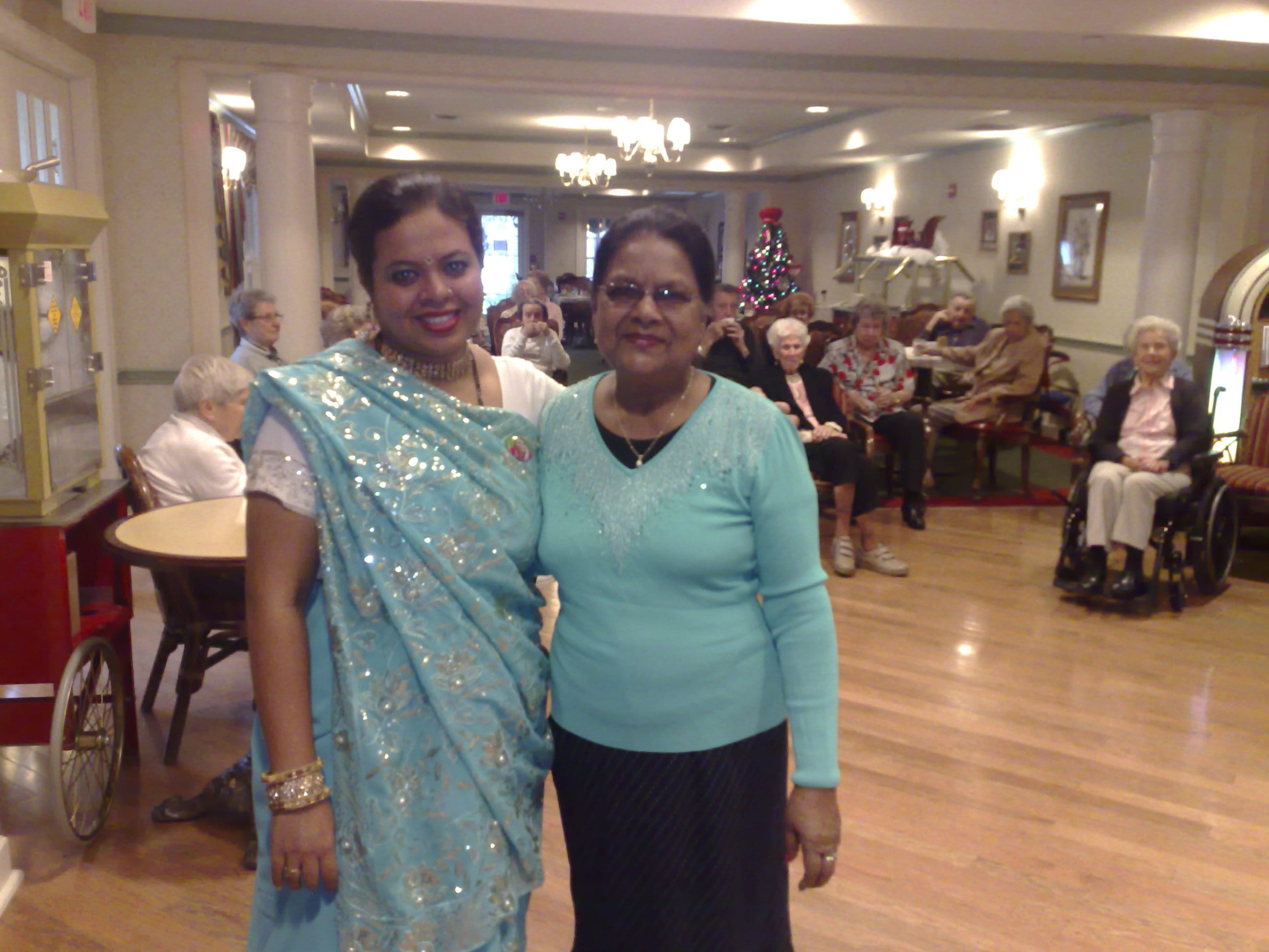 Anandita reconnected with Senior lady that had practised Sahaja Yoga in Montreal many years ago