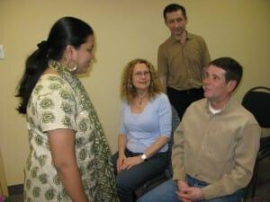 Talking to Anandita - Always a pleasure!