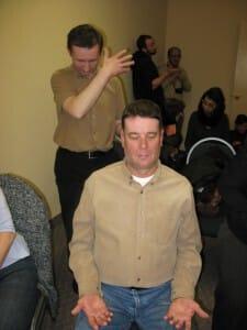Vasili - giving a sahaja yoga meditation workshop