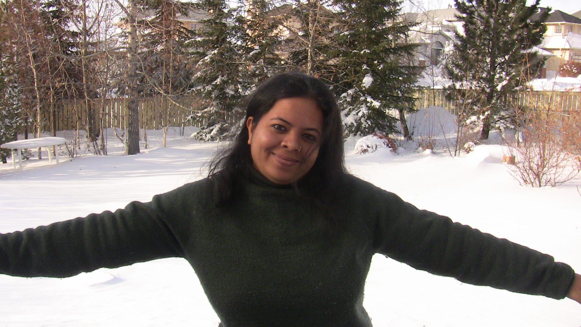 Anandita - Loving Calgary back