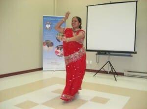 Anandita -dancing and singing