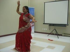 Anandita - dancing posture