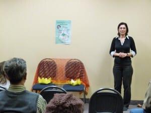 Emiliana - specialist in physiotherapy and experienced practitioner of Sahaja Yoga meditation