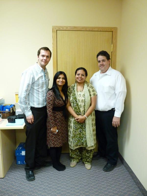 James, Rafeena, Anandita and dr.Karelys - Thank you All !