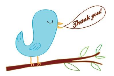 thankyou bird
