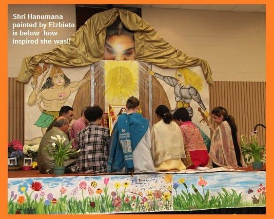 Easter Puja Meditation - Yogi representatives from various regions from Canada-world