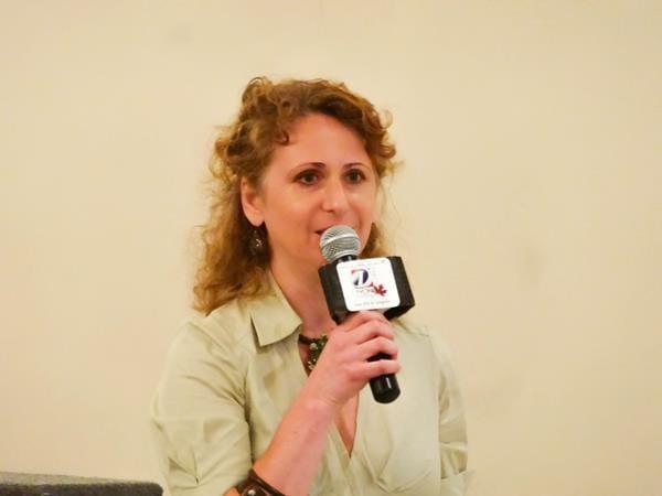 Ioana  - guest speaker representing sahaja yoga meditation (FREE MEDITATION)