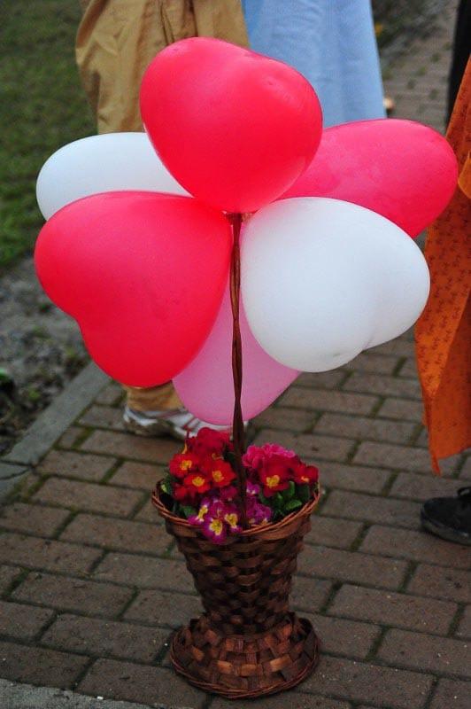 Hearts Baloons  -Cabella