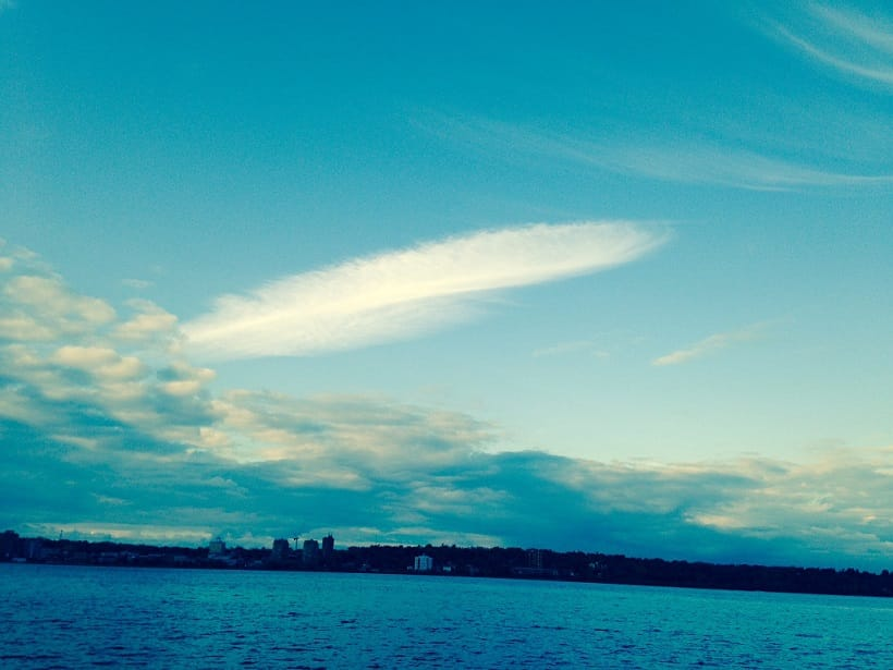 feather Sky transformation - photo by Shulin from Oakville Youth Meditation Program