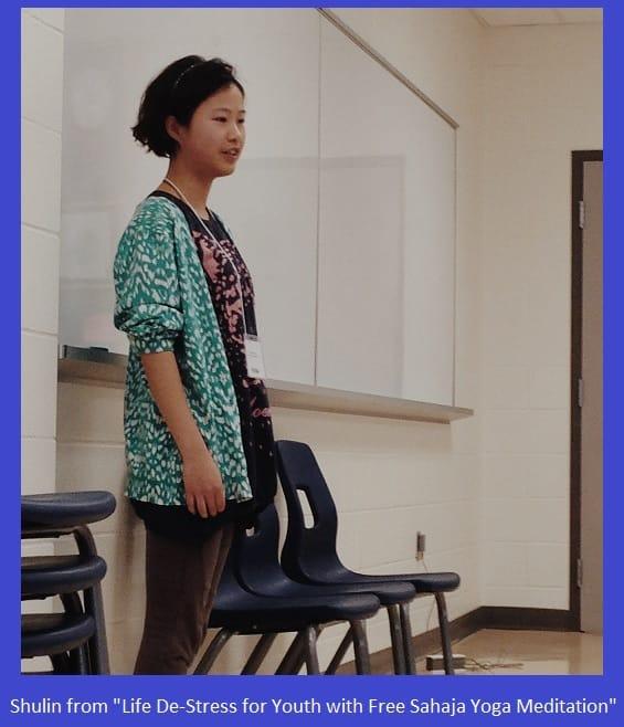Shulin - 16 years old yoga meditation instructor