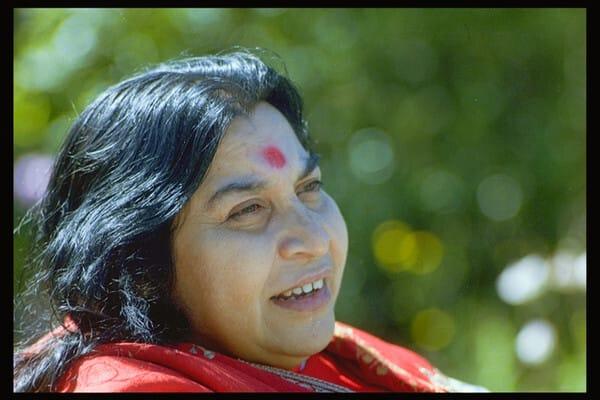 Shri Mataji -Nature 2