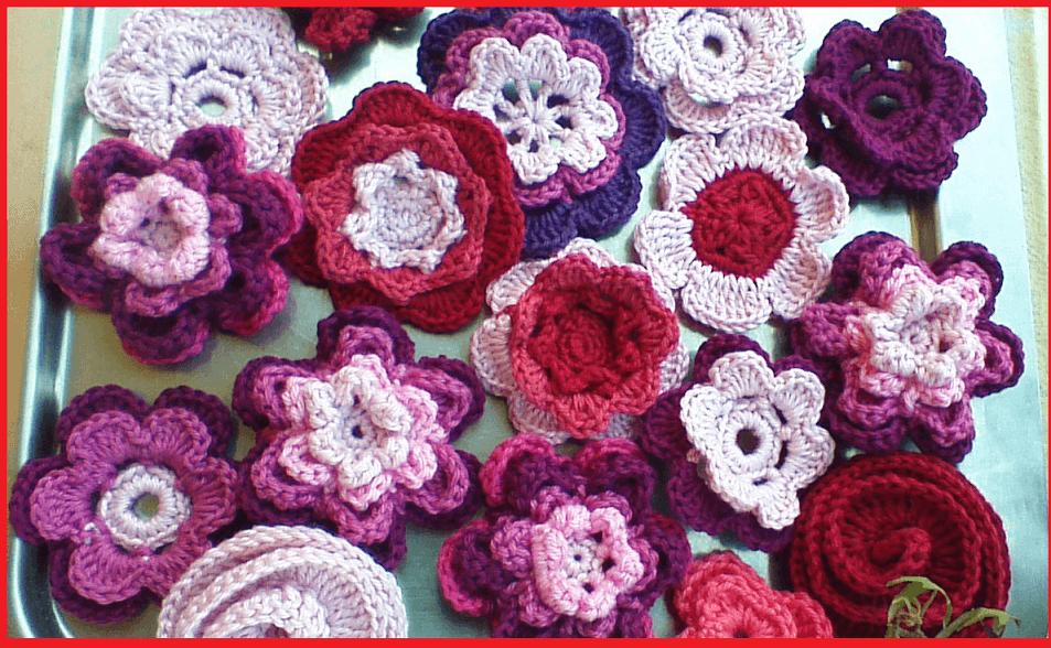 Crochet Flowers-  Miranda