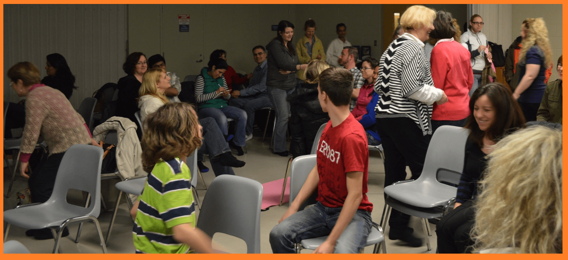 Discussions - Sharing IMpressions at Burlington Inner Peace Public Program