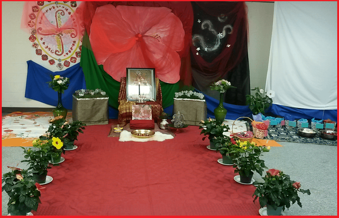 Decorations - Meditation on Shri Ganesha with Ontario yogis
