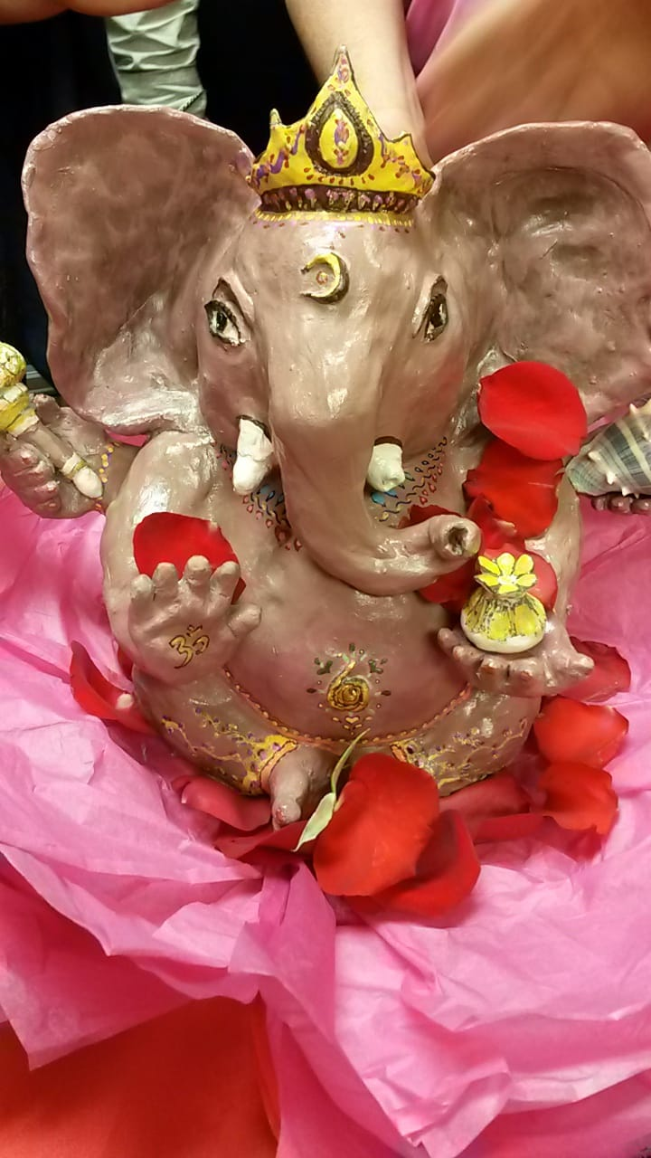 Shri Ganesha at Mother's Ark play