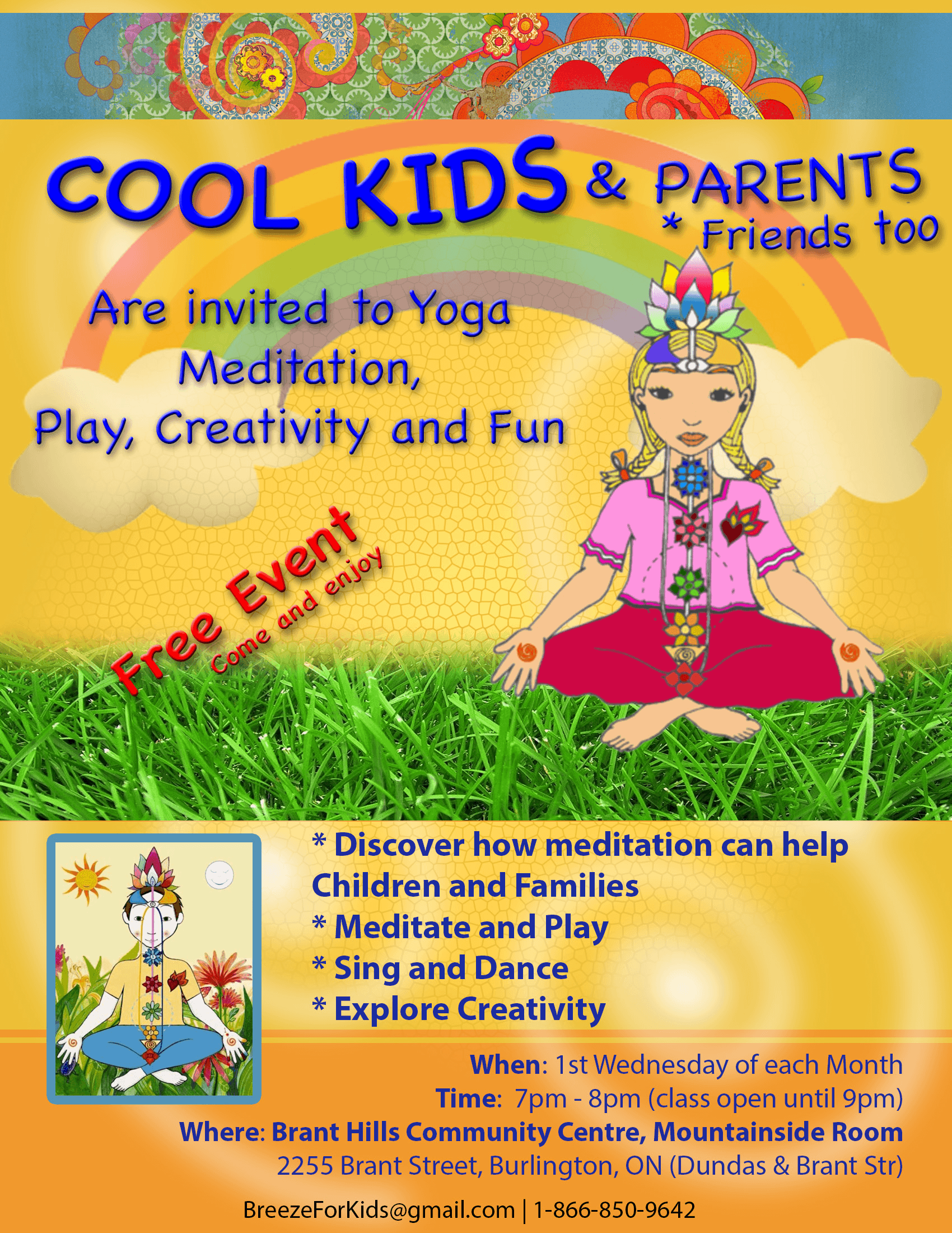Cool Kids Poster - Monthly program-s