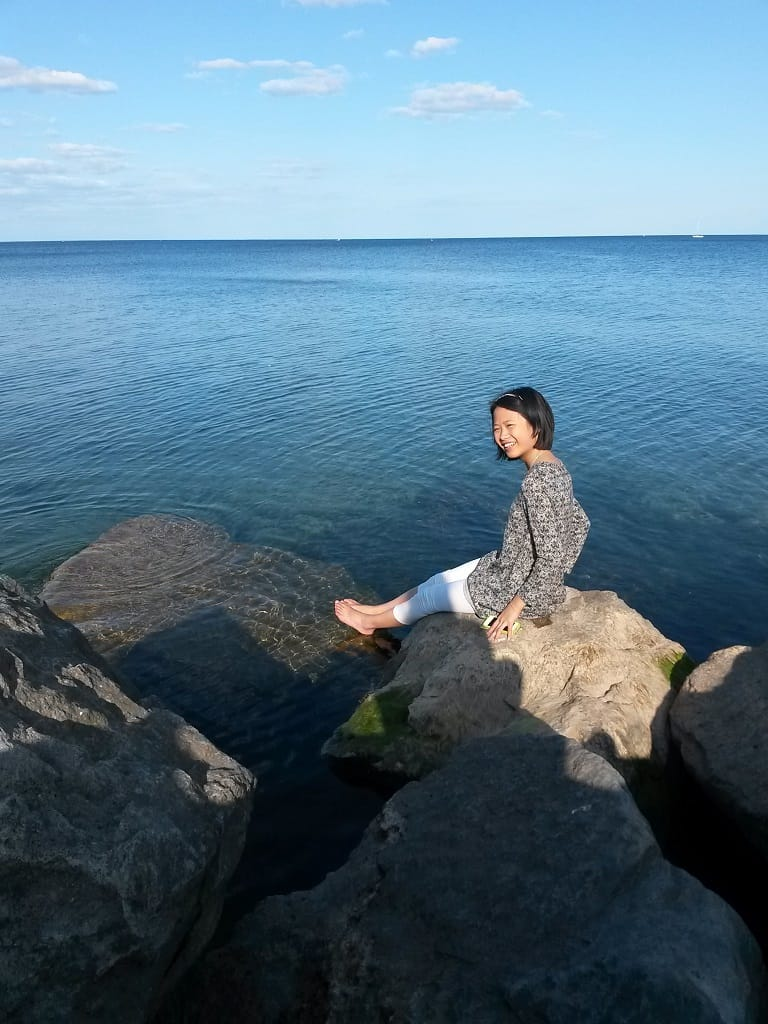 Shulin on Burlingtons Shore of Lake Ontario