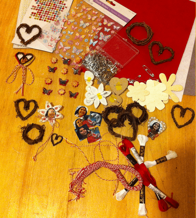 hand made Martisor-artcratfs