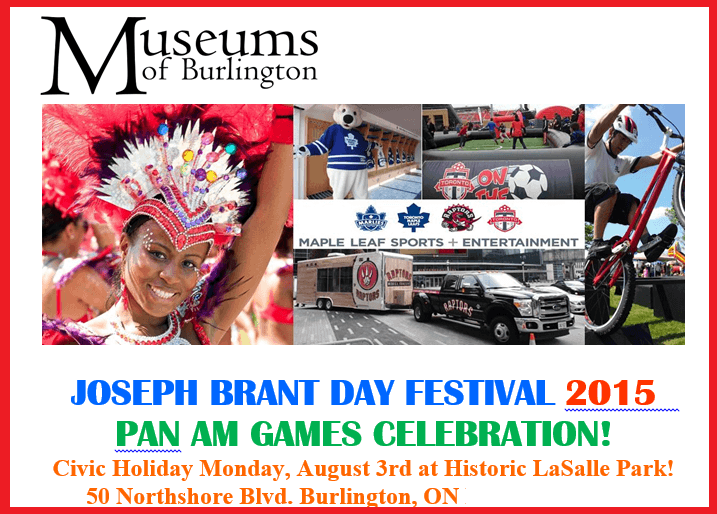 Joseph Brant Day PAN AM 2015