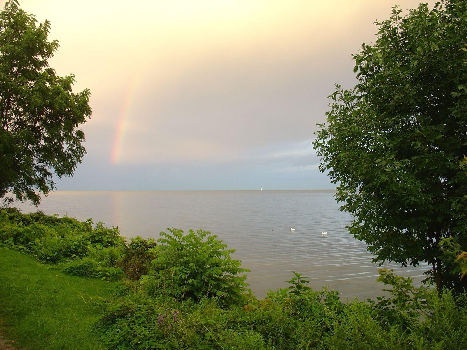 N- lake - rainbow