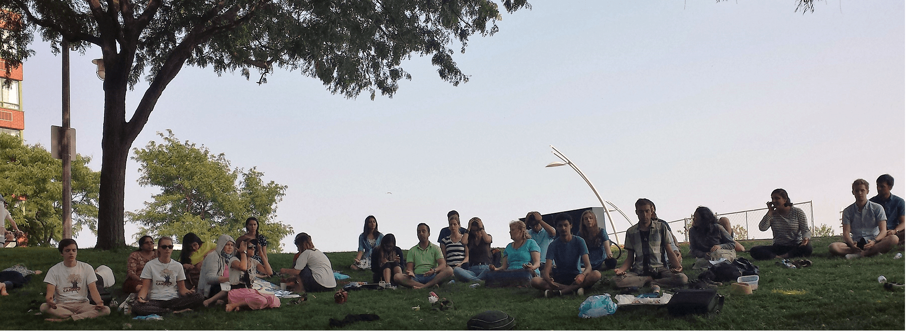 Meditation in burlington - Realize Canada Tour1