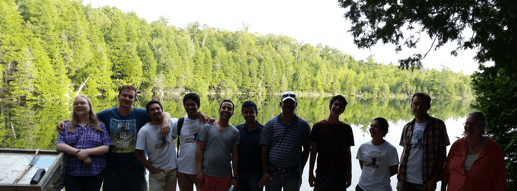 Realize Canada Tour hosted by Halton Yogis - at Crawford lake 2015- Photo by Paula