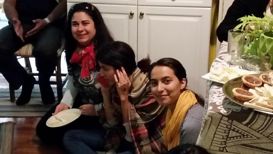 At Carmelas home - SEPT 2015