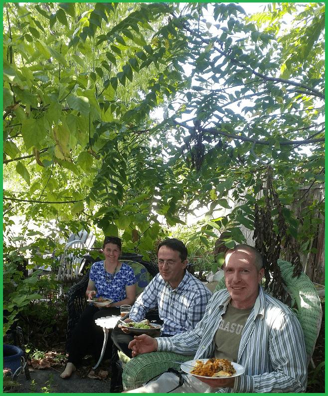 Yogis in Carmela's Garden - SEPT 2015
