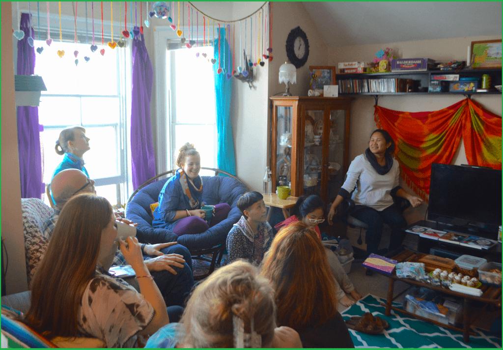 Barrie seminar with Halton Yogis