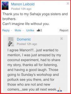 Feedback from Manon and Domenic