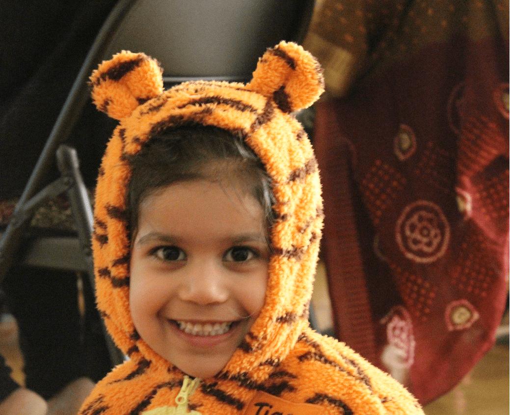 Child Lion
