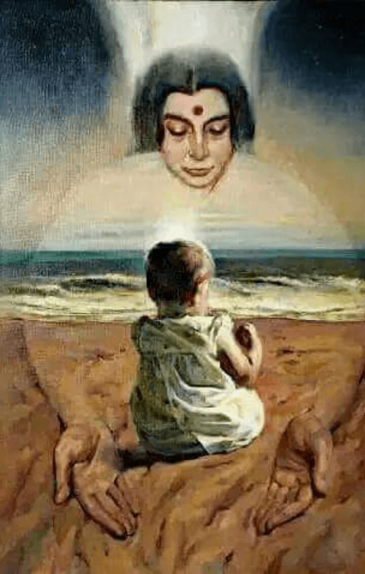 MahaSamaddhi Painting
