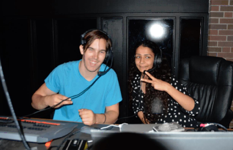 SHivangna and WHITE OAKS DJ